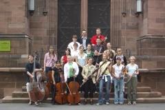 2004 vor der Dreikönigskirche